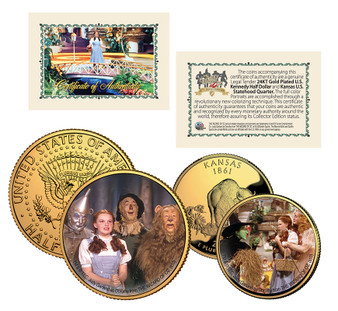 70th Anniversary of The Wizard of Oz - 2 Coin Set
