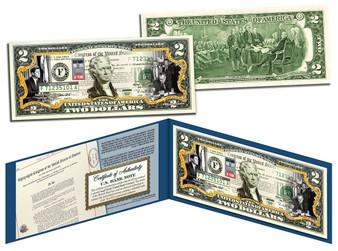 Civil Rights 50th Anniversary Commemorative Colorized $2 Bill