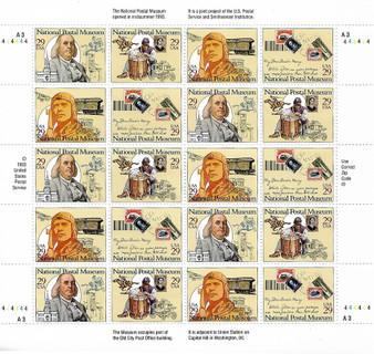 1993 #2779 National Postal Museum