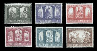 Vatican City 1966 Stamps #433-438 MNH