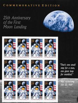 1994 #2841 Moon Landing 25th Anniversary