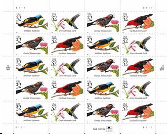 1998 #3222 Tropical Birds
