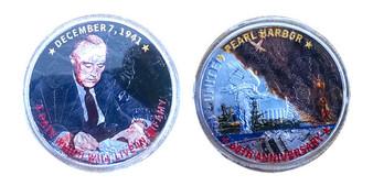 Pearl Harbor 60th Anniversary December 7, 1941 Silver Eagle