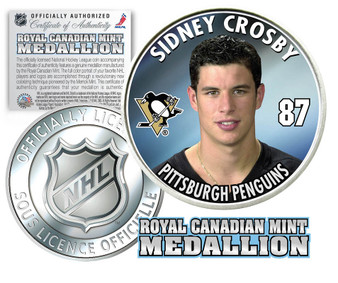 Sidney Crosby #87 2005-2006 NHL Royal Canadian Mint Coin