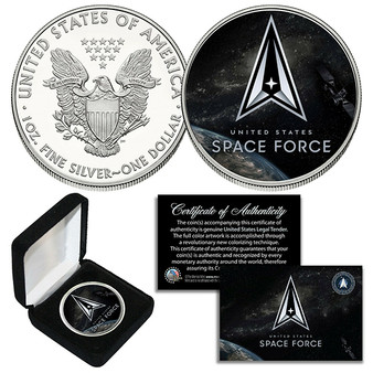 Space Force USSF Armed Forces 1 Oz. .999 Silver American Eagle