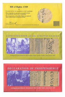 Bill Of Rights -Constitution - Declaration Reproductions