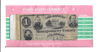 Union States Currency Reproductions
