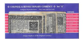 Confederate States Reproduction Bills Set A