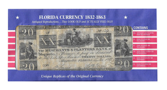 Florida Currency Reproductions 1832-1863