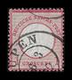 1872 #4 Small Shield 1 Groschen Cancelled