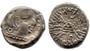 Indian Satraps Silver-Like Denarius Coin from 295 CE