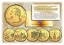 24K Gold Plated State Quarter Series 2000