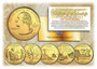 24K Gold Plated State Quarter Series 2003