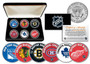 NHL Original Six JFK Half Dollar Set with Case