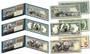 Set of all 3 1890's EDUCATIONAL SERIES Neoclassical Designed NEW Legal Tender Modern $1, $2 & $5 Bills