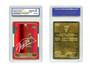 1998 Michael Jordan Fleer Rookie 23K Gold Card Red Prism Refractor Gem Mint 10