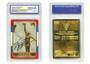1998 Michael Jordan Fleer Rookie Signature Prism 23K Gold Card Gem Mint 10