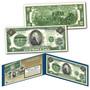 1862 Alexander Hamilton Civil War Treasury $2 Banknote Design on Modern $2 Bill