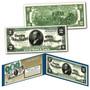 1886 William Windom Civil War Treasury $2 Banknote Design on Modern $2 Bill