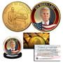 Presidential Series - Joe Biden on 24K Gold Plated Washington DC Quarter