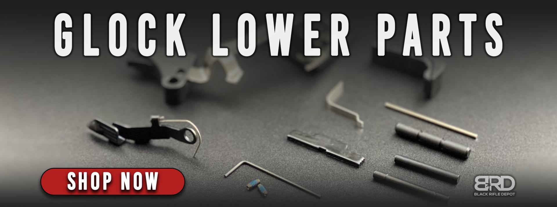 Glock Lower Parts Kits, Glock Parts Kits, Glock Parts, and Glock Lower Parts at the very best prices.