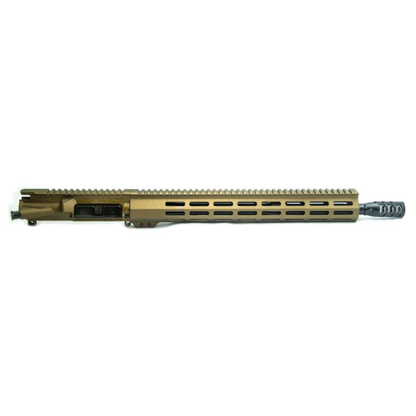 APOC ARMORY Titan 16 .223 Wylde CHF Complete Upper Assembly Burnt Bronze