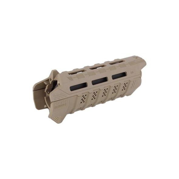 STRIKE INDUSTRIES Strike Industries Carbine Length Polymer Handguard FDE/BLK, AR 15 Handguard