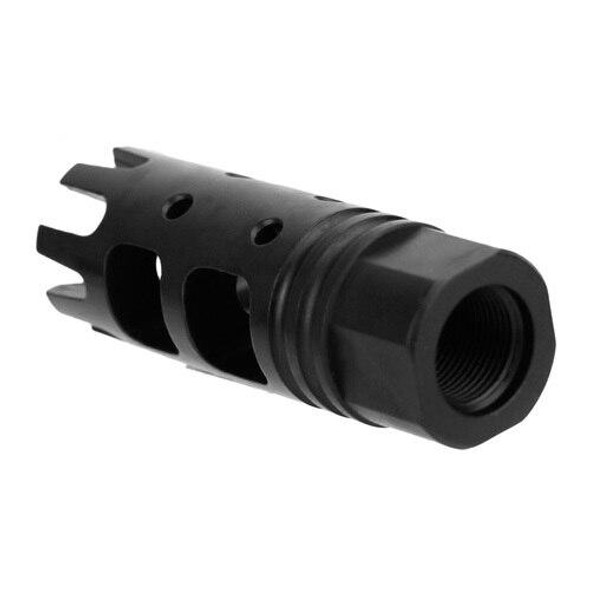 BLACK RIFLE DEPOT 1/2x28 Crown Muzzle Brake, AR 15 Parts, AR 15 Upper Parts, AR 15 Muzzle Device