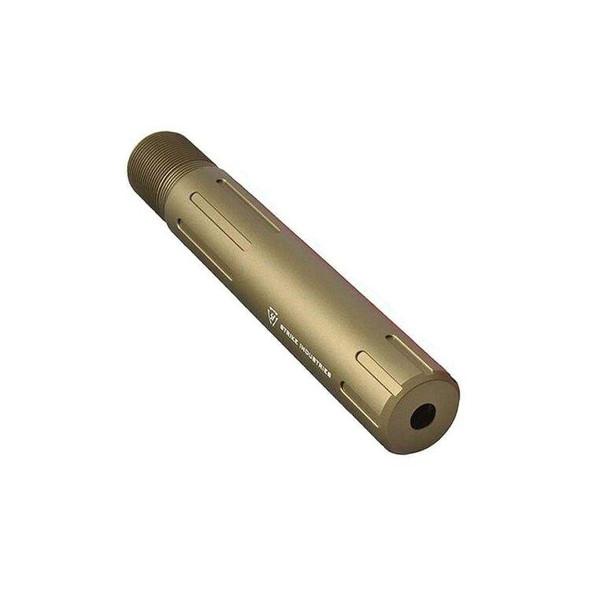 STRIKE INDUSTRIES Strike Industries Carbine Length Pistol Receiver Extension FDE, AR 15 Buffer Tube, AR 15 Parts, Strike Industries Parts, AR 15 Lower Parts , FDE AR 15 Parts