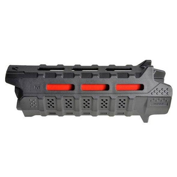 STRIKE INDUSTRIES Strike Industries Carbine Length Polymer Handguard BLK/RED, AR 15 Handguard, Colored AR 15 Parts, Red AR 15 Parts, AR 15 Parts, AR Parts