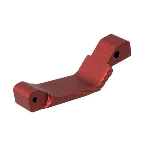 LEAPERS / UTG UTG AR 15 Oversized Trigger Guard - RED, AR 15 Trigger Guard, Red AR 15 Parts, Colored AR 15 Parts, AR 15 Parts, AR Parts, AR 15 Spare Parts, AR 15 Lower Parts