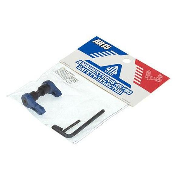 LEAPERS / UTG UTG AR 15 Ambidextrous 45/90 Safety Selector - BLUE, AR 15 Safety Selector, Blue AR 15 Parts, Colored AR 15 Parts, AR 15 Parts, Spare AR 15 Parts, AR 15 Lower Parts