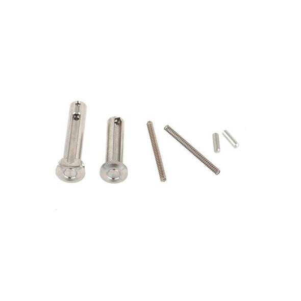 Battle Arms Battle Arms Titanium Enhanced Pivot and Takedown Pin Set, AR 15 Take Down Pins, AR 15 Parts, AR Parts, Spare AR 15 Parts, AR 15 Lower Parts, Stainless AR 15 Parts