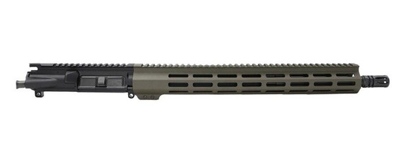 BLACK RIFLE DEPOT 16 5.56 Gov / SOCOM Mid length M-LOK AR 15 Upper Assembly OD Green