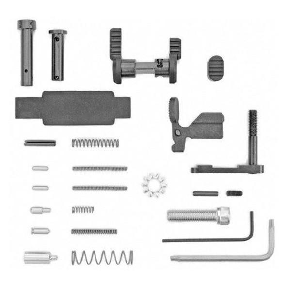 ARMASPEC Armaspec AR 15 Lower Parts Kit Superlight Less FCGGrip-BLK