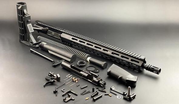 BLACK RIFLE DEPOT 16 5.56 Standard Rifle Build Kit W/15 M-LOK Handguard