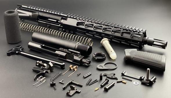 BLACK RIFLE DEPOT 10.5 5.56 Premium AR 15 Pistol Build Kit W/9.85 M-LOK Handguard