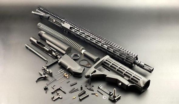 BLACK RIFLE DEPOT 16 5.56 Premium Rifle Build Kit W/15 M-LOK Handguard