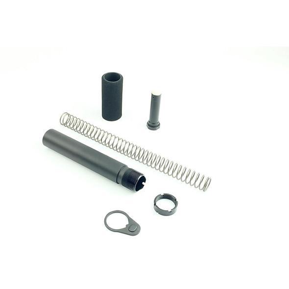 BLACK RIFLE DEPOT Pistol Buffer Tube Kit Black