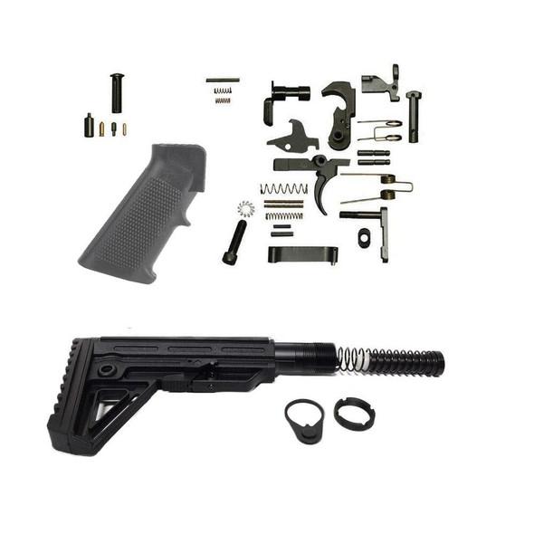 TRINITY FORCE ALPHA AR 15 Lower Build Kit
