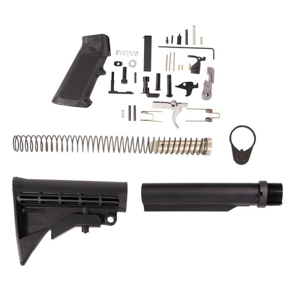 Anderson Lower Build Kit, AR 15 Lower Build Kit, American Made AR 15 Lower Build Kit
