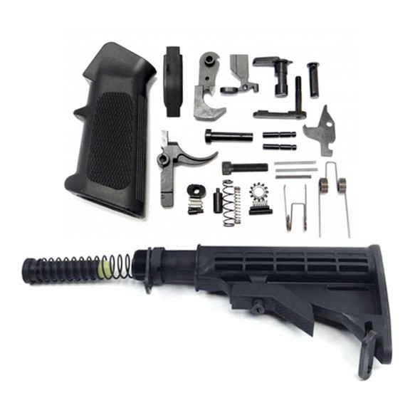 APOC ARMORY AR 15 lower Build Kit with APOC Armory Enhanced LPK, AR15, AR 15, AR 15 Parts, AR Parts, AR15 Parts, AR-15 Parts