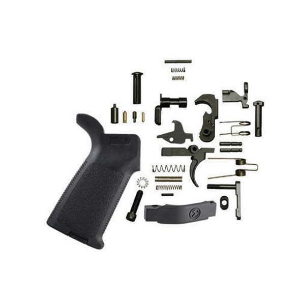 BLACK RIFLE DEPOT AR 15 Lower Parts Kit with Magpul MOE Grip - Black, AR15, AR 15, AR 15 Parts, AR Parts, AR15 Parts, AR-15 Parts