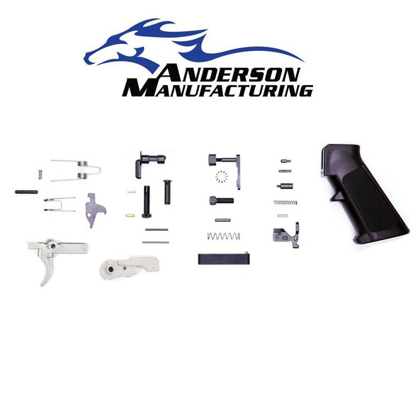 ANDERSON MANUFACTURING Anderson Manufacturing Lower Parts Kit Stainless Trigger