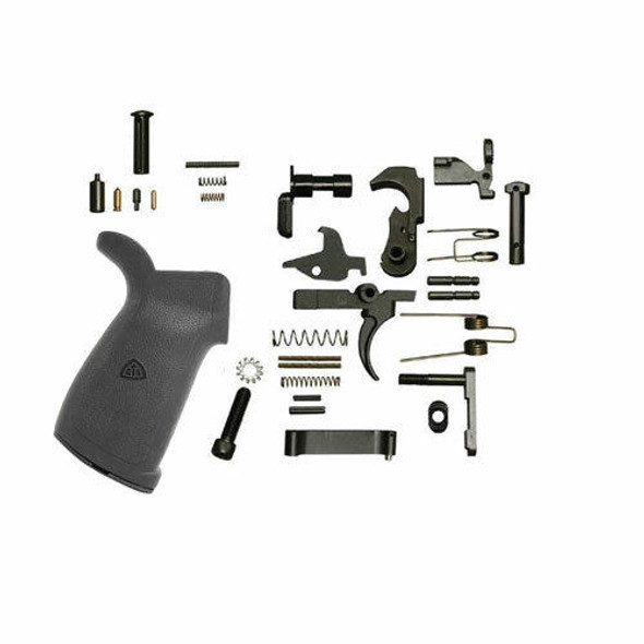 Black Rifle Depot AR 15 Lower Parts Kit With DI Grip