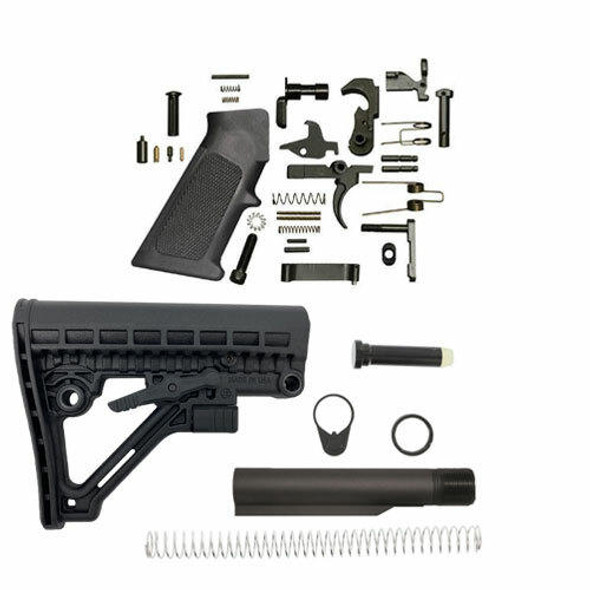 Black Rifle Depot JE4 AR 15 Lower Build Kit