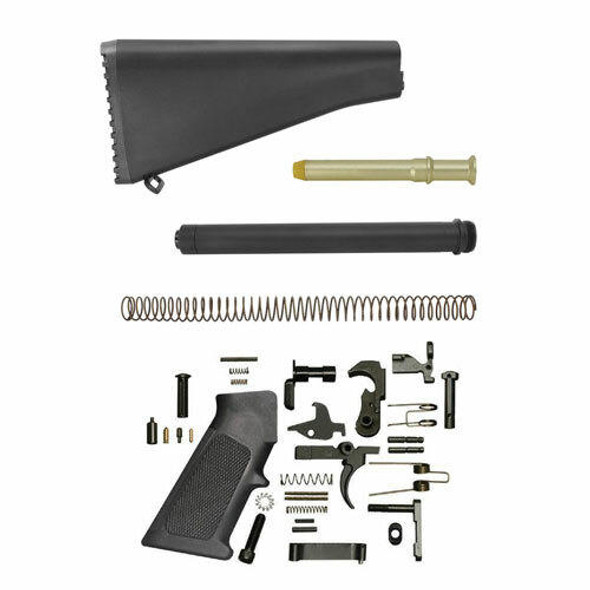 Black Rifle Depot A2 Style AR 15 Lower Build Kit