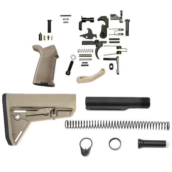 MAGPUL Magpul MOEr SL AR 15 Lower Build Kit FDE