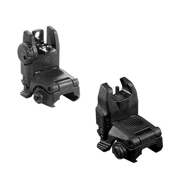 MAGPUL MAGPUL MBUS Set Black, AR Parts, AR15 Parts, AR 15 Parts, AR-15 Parts