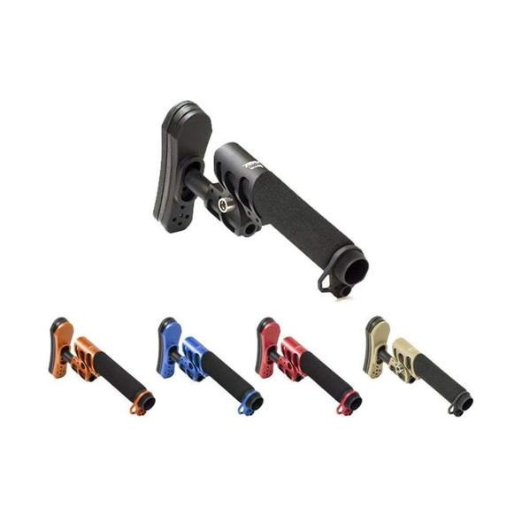 ODIN WORKS ODIN Works Zulu Adjustable Stock w/Padded Pistol Buffer Tube